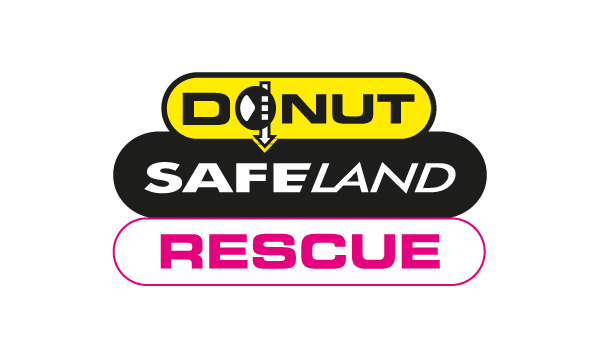 Donut Safeland Rescue Logo