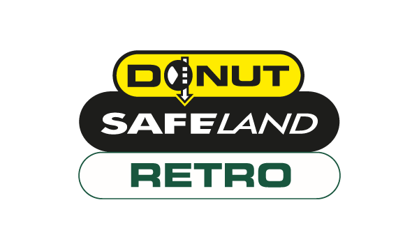 Donut Safeland Retro Logo